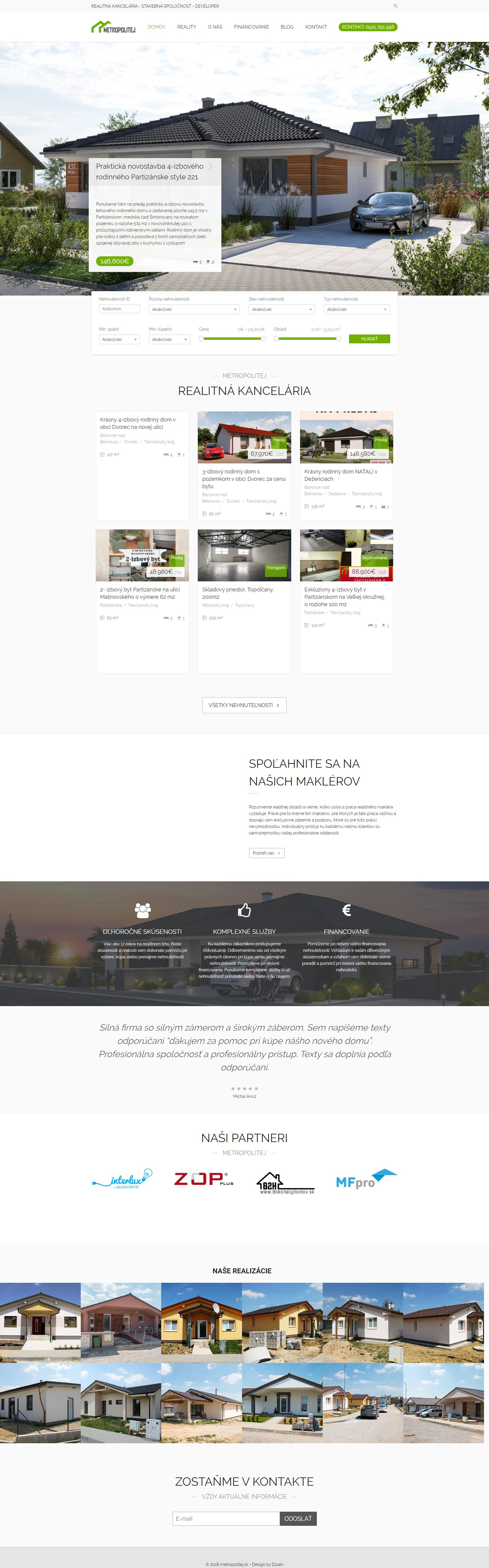 web design metropolitej
