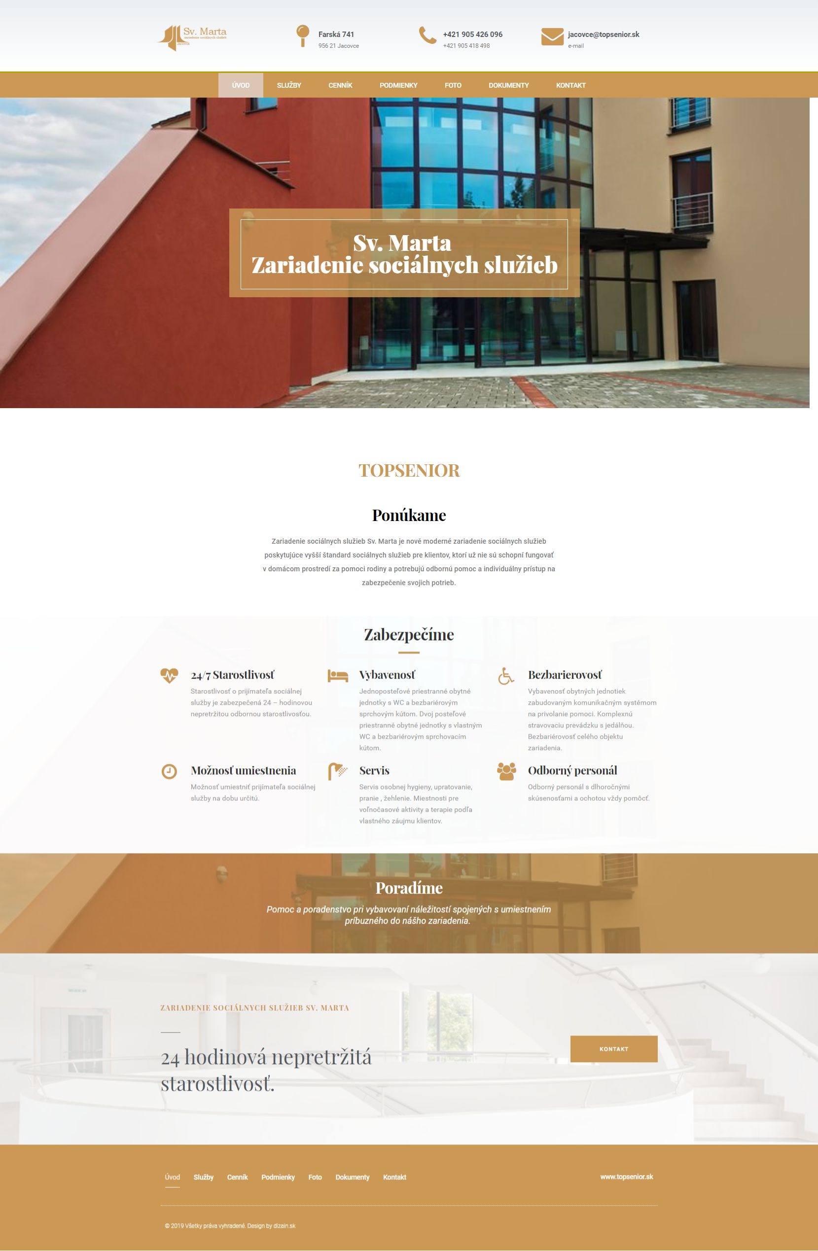 web design topsenior