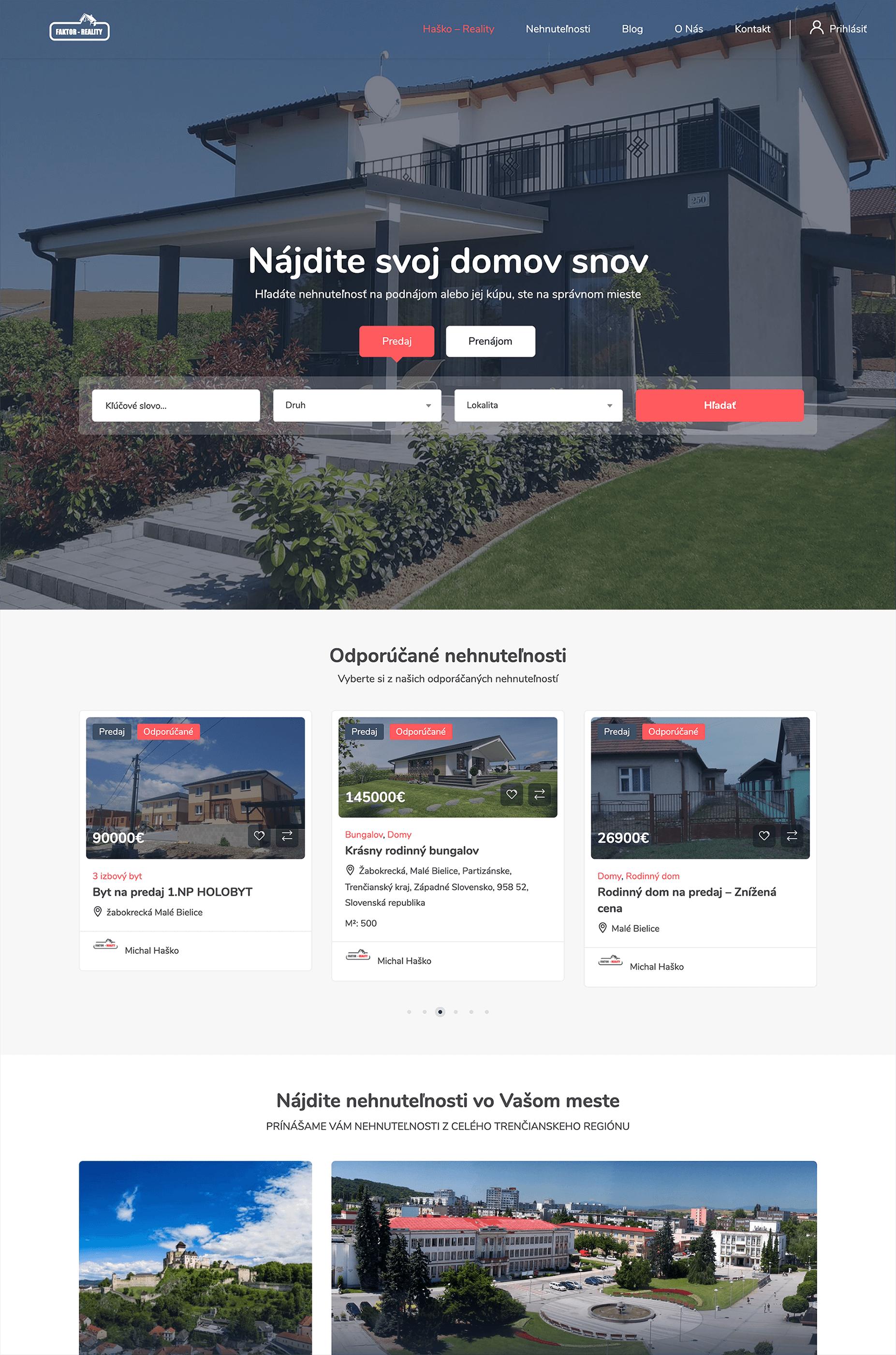 web design hasko reality