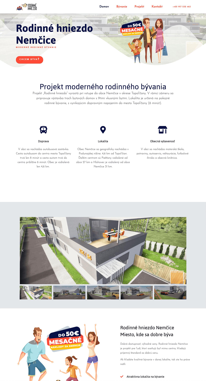 web design rodinne hniezdo
